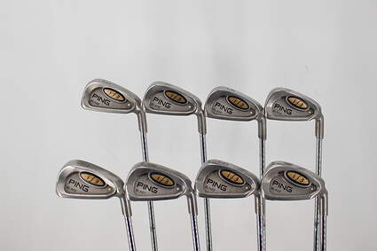 Ping i3 Blade Iron Set 3-PW GW Stock Steel Shaft Steel Regular Right Handed 37.5in