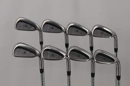 TaylorMade 200 Steel Iron Set 3-PW TM R-80 Steel Steel Regular Right Handed 37.75in