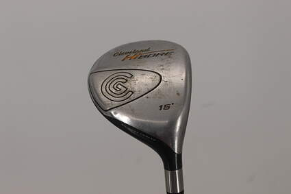 Cleveland Hibore Fairway Wood 3 Wood 3W 15° Cleveland Fujikura Fit-On Gold Graphite Regular Right Handed 42.75in