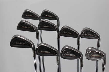 Tommy Armour 845S Polished 201 Iron Set 1-PW Steel Stiff Right Handed
