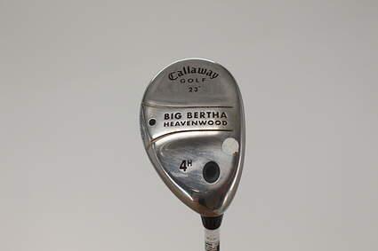 Callaway Big Bertha Heavenwood Hybrid 4 Hybrid 23° Callaway Gems Graphite Ladies Right Handed 39.0in