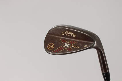 Callaway X-Tour Vintage Wedge Sand SW 54° 13 Deg Bounce R Grind True Temper Dynalite Gold Steel X-Stiff Right Handed 36.0in