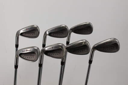TaylorMade Supersteel Iron Set 4-PW TM S-90 Steel Stiff Right Handed 37.5in