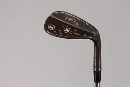 Callaway X-Tour Vintage Wedge Sand SW 56° 13 Deg Bounce R Grind Steel Wedge Flex Right Handed