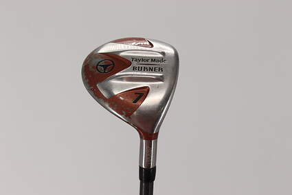 TaylorMade 1998 Burner Fairway Wood 7 Wood 7W TM Bubble 2 Graphite Stiff Right Handed 41.5in
