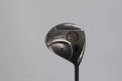 Callaway Hawkeye Fairway Wood 3 Wood 3W Graphite Stiff Right Handed 43.5in