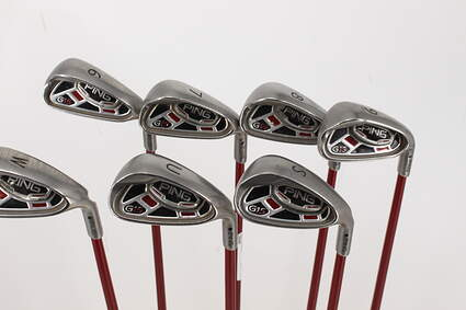 Ping G15 Iron Set 6-PW GW SW Ping TFC 149I Graphite Regular Right Handed 37.25in