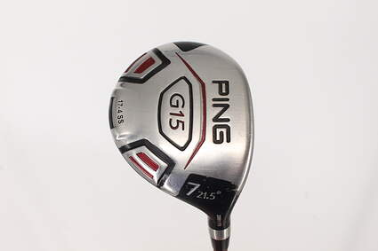 Ping G15 Fairway Wood 7 Wood 7W 21.5° Ping TFC 149F Graphite Regular Right Handed 41.0in