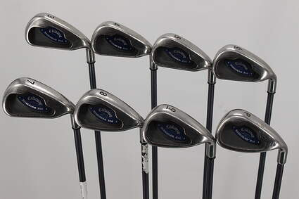 Callaway X-16 Iron Set 3-PW Callaway Stock Graphite Graphite Regular Right Handed 38.0in