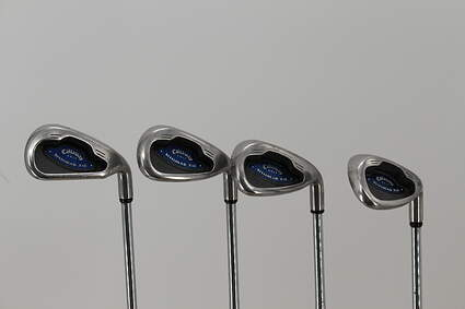 Callaway X-16 Iron Set 7-PW Stock Steel Shaft Steel Stiff Right Handed 36.5in