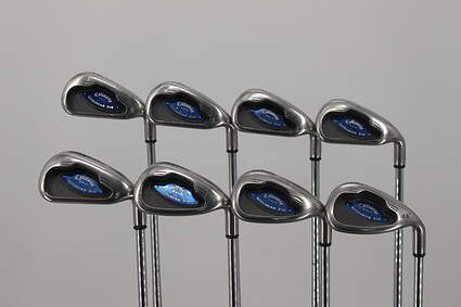 Callaway X-16 Iron Set 3-PW Callaway Stock Steel Steel Uniflex Right Handed 38.0in