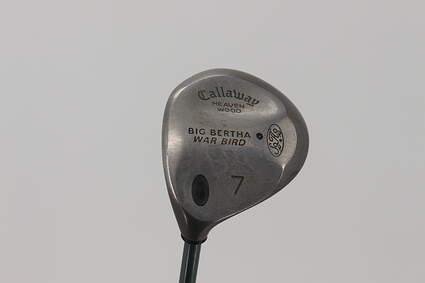 Callaway Big Bertha Warbird Fairway Wood 7 Wood 7W Callaway Gems Graphite Ladies Left Handed 40.5in