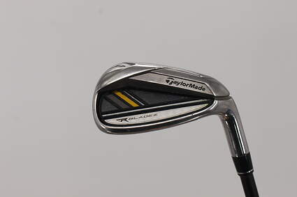 TaylorMade Rocketbladez Single Iron Pitching Wedge PW TM Matrix RocketFuel 65 Graphite Stiff Right Handed 35.75in