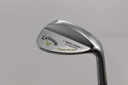 Callaway Mack Daddy 2 Tour Grind Chrome Wedge Sand SW 56° 11 Deg Bounce T Grind True Temper Dynamic Gold Steel Wedge Flex Right Handed 35.0in