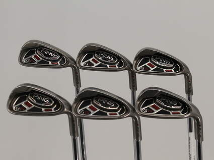 Ping G15 Iron Set 5-PW Ping AWT Steel Regular Right Handed Maroon Dot 39.25in