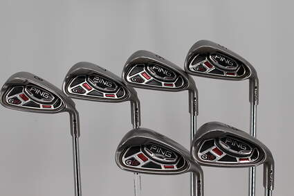 Ping G15 Iron Set 5-PW Ping AWT Steel Regular Right Handed Black Dot 38.0in