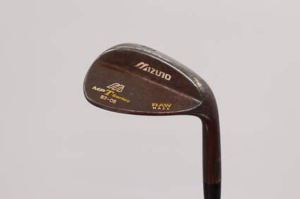 Mizuno 2008 MP-T Series Black Nickel Wedge Sand SW 53° 8 Deg Bounce Stock Steel Shaft Steel Stiff Right Handed 35.75in