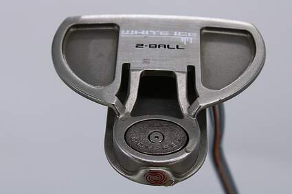 Odyssey White Ice 2-Ball Putter Steel Right Handed 34.5in