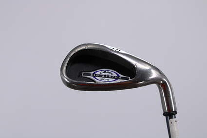 Callaway 2002 Big Bertha Single Iron Pitching Wedge PW 45° Callaway RCH 65i Graphite Ladies Right Handed 34.5in