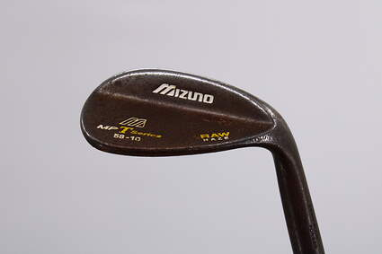 Mizuno MP-T Black Nickel Wedge Sand SW 56° 10 Deg Bounce True Temper Dynamic Gold Steel Wedge Flex Right Handed 35.5in