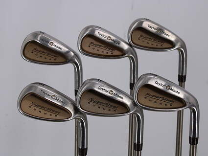 TaylorMade Supersteel Iron Set 6-PW SW TM Bubble Graphite Ladies Right Handed 36.5in