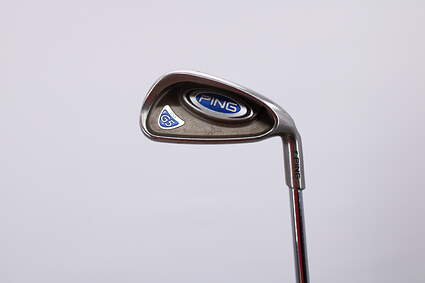 Ping G5 Single Iron 7 Iron Stock Steel Shaft Steel Stiff Right Handed Green Dot 36.5in