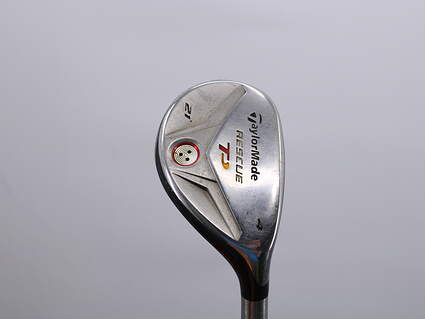TaylorMade Rescue TP Hybrid 4 Hybrid 21° Stock Steel Shaft Graphite Stiff Right Handed 39.5in