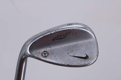 Nike SV Tour Chrome Wedge Sand SW 56° 14 Deg Bounce True Temper Dynamic Gold S400 Steel Wedge Flex Left Handed 35.0in
