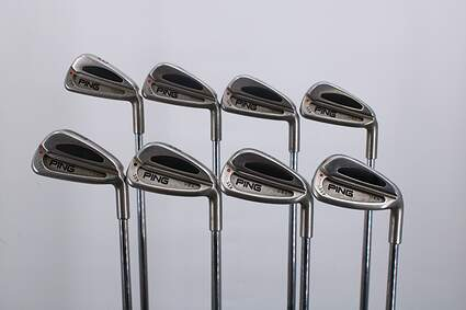Ping S59 Iron Set 3-PW Ping Z-Z65 with Cushin Insert Steel Regular Right Handed Red dot 37.75in