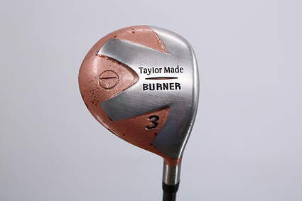 TaylorMade 1998 Burner Fairway Wood 3 Wood 3W 15° Stock Graphite Shaft Graphite Stiff Right Handed 43.0in