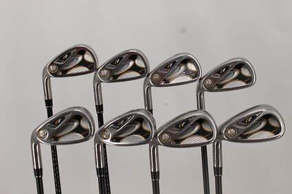TaylorMade R7 Draw Iron Set 5-PW GW TM Reax 55 Graphite Regular Left Handed 38.0in