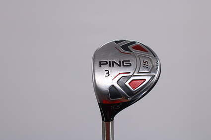 Ping i15 Fairway Wood 3 Wood 3W 15.5° Ping TFC 700F Graphite Regular Left Handed 42.75in