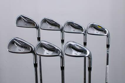TaylorMade Rac LT Iron Set 4-PW Stock Steel Shaft Steel Stiff Right Handed 38.0in