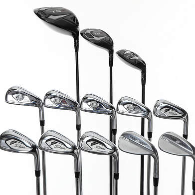 Titleist T200 Iron with TS Woods Complete Golf Club Set