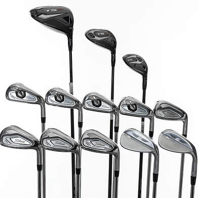 Titleist T300 Iron with TS Woods Complete Golf Club Set