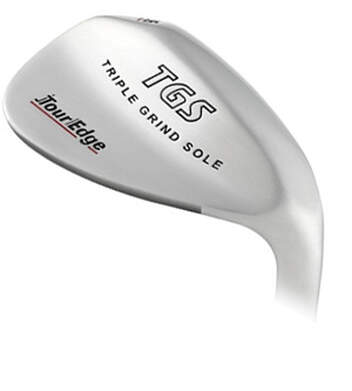 Tour Edge Triple Sole Grind Stainless Wedge