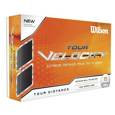 Wilson Staff Tour Velocity Distance 15 Pack Golf Balls