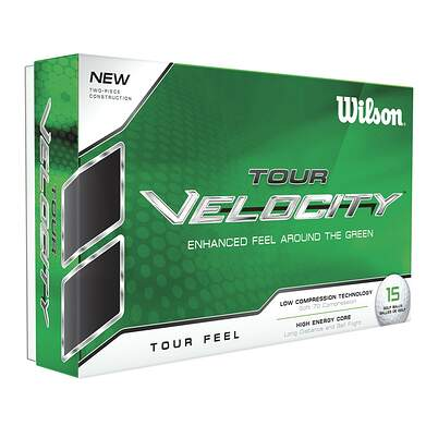 Wilson Staff Tour Velocity Feel 15 Pack Golf Balls