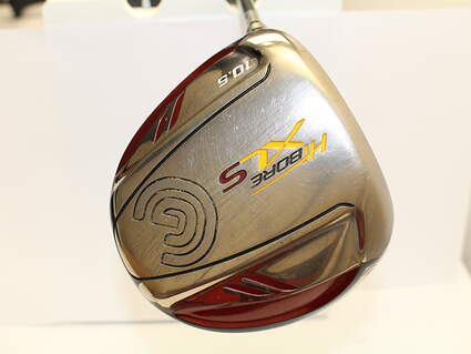 Cleveland Hibore XLS Driver 10.5* Cleveland Fujikura Fit-On Gold Graphite Stiff Left Handed 45 in