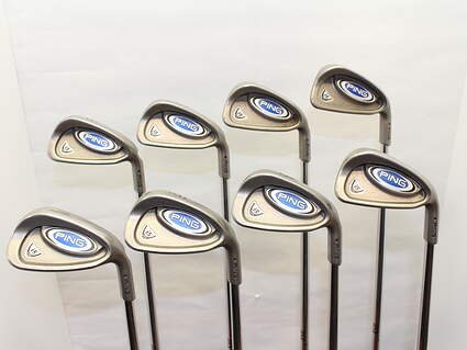 Ping i5 Iron Set 3-PW Steel Regular Right Handed Black Dot 37.75 in