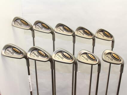 Ping i3 Oversize Iron Set 3-PW GW SW Stock Steel Shaft Steel Stiff Right Handed 38 in