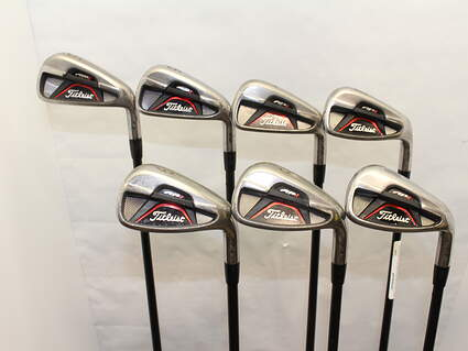 Titleist 712 AP1 Iron Set 5-PW GW Titleist GDI Tour AD 50i Graphite Ladies Right Handed 37.5 in