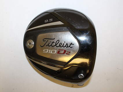 Titleist 910 D2 Driver 9.5* Right Handed ***HEAD ONLY*** No Screw