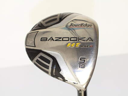 Tour Edge Bazooka HT Max Draw Fairway Wood 5 Wood 5W 19* Tour Edge Aldila NV 65 Series Graphite Regular Right Handed 43.5 in