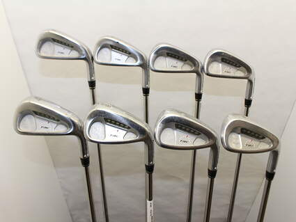 TaylorMade Rac Forged CB TP Iron Set 3-PW Rifle 6.0 Steel Stiff Right Handed 38.75 in
