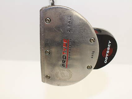 Odyssey Protype Tour 2-Ball Putter Stock Steel Shaft Steel Right Handed 34.5 in