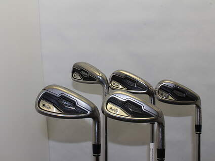 Adams Idea Tech V4 Iron Set 7-PW GW Stock Steel Shaft Steel Regular 36 in