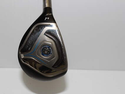 TaylorMade Jetspeed Hybrid 4 Hybrid 22* TM Matrix VeloxT 65 Graphite Regular Left Handed 41 in