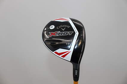 Callaway 2013 X Hot Pro Fairway Wood 3 Wood 3W 17* UST Proforce V2 Graphite Stiff Right Handed 43 in