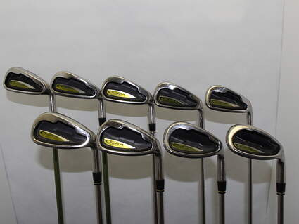 Adams Ovation 3 Iron Set 3-PW SW Stock Steel Shaft Steel Uniflex Right Handed 38 in